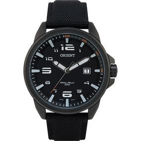 Relógio Orient Mpsn1002 Masculino Visor Preto Pulseira Nylon