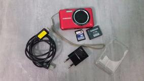 Câmera Digital Samsung Es73 Vermelha