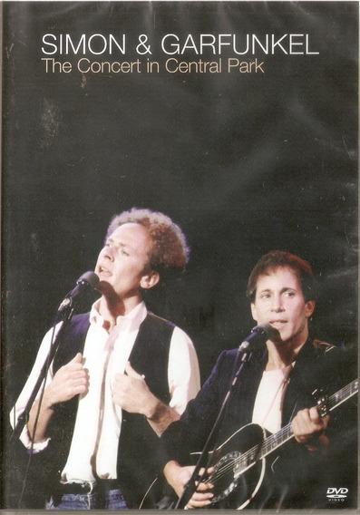 Dvd Simon E Garfunkel - The Concert In Central Park - Novo**