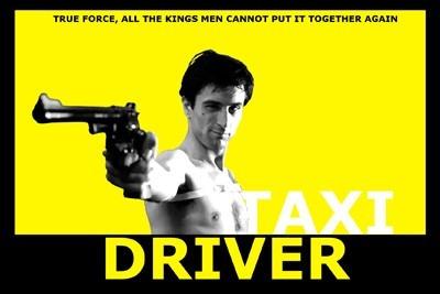 Carteles Antiguos Poster Gruesa 60x40cm Taxi Driver Fi-064