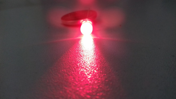 Led Alto Brilho Vermelho 5mm Lote 10 Peças
