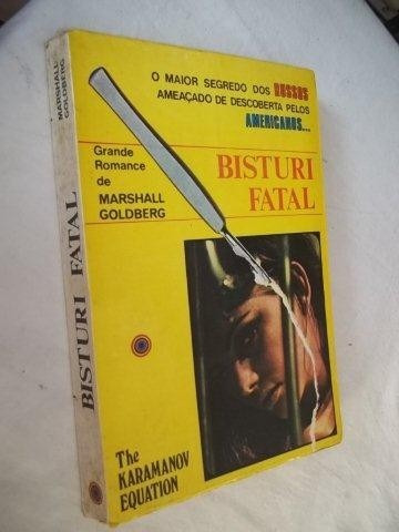 Livro - Bistury Fatal - Literatura Estrangeira
