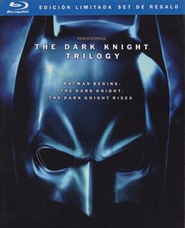 Batman The Dark Knight Trilogia Edicion Limitada Set Blu-ray