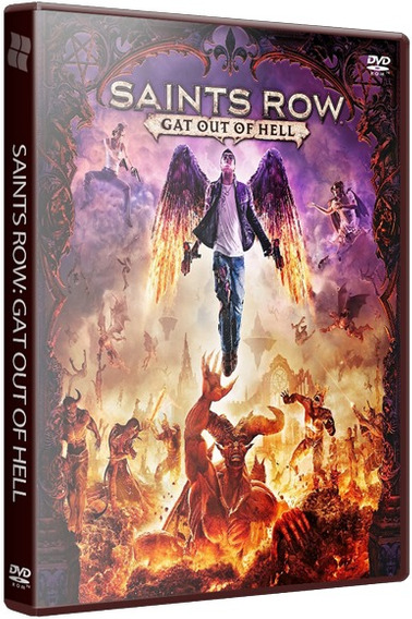 Saints Row Gat Out Of Hell - Pc Dvd - Frete 8 Reais