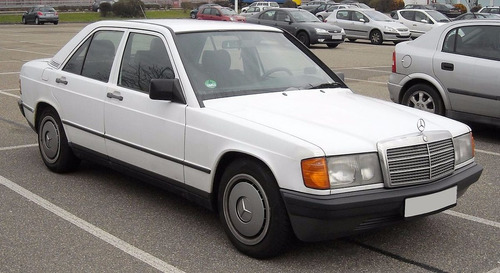 Manual De Despiece Mercedes Benz W201 (1982-1993) Español