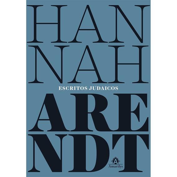 Escritos Judaicos Hannah Arendt Antissemitismo Frete Grátis