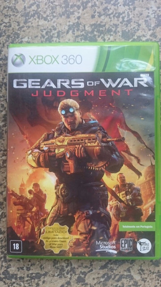 Gears Of War Judgment Xbox 360 Frete R$10