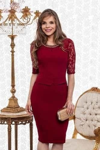 Vestido Moda Evangelica Promoçao !!! Cod#0030