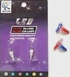 Bombillos Luces T5 - Minimuelita 01 Led (azul) Par