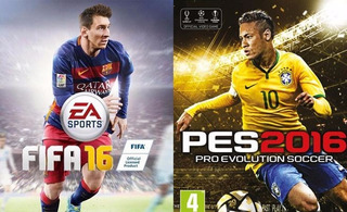Fifa 16 + Pes 16 Ps3 Digital | Español