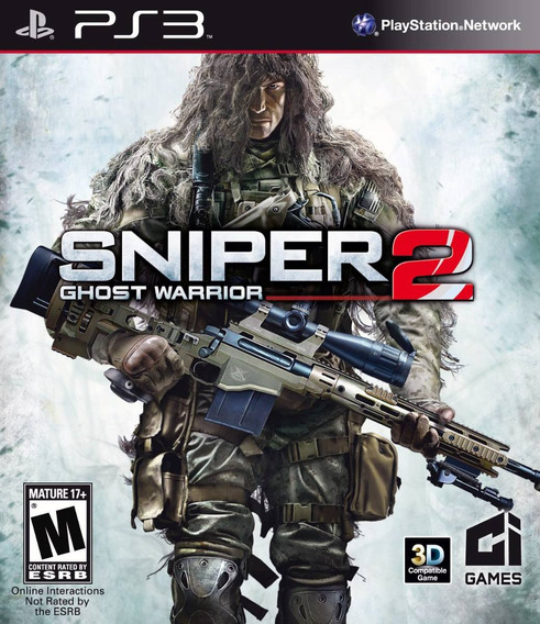 Sniper Ghost Warrior 2 Ps3 (psn) Envio Imediato!