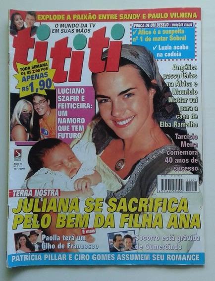 Revista Tititi Nº 71 - 2000 - Terra Nostra, Tarcísio Meira
