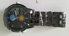 Relógio Digital Masculino Preto Em Aço