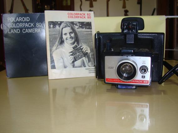 Câmera Antiga Polaroid Colorpack 80