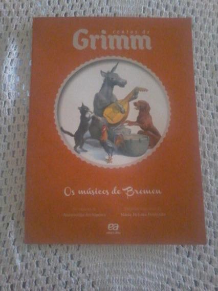 Livro Infantil Contos De Grimm