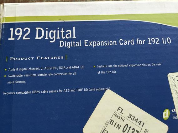 192 I/0 Digital Expansion Card Cartão De Expansão