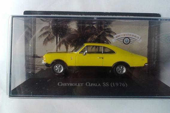 Chevrolet Opala Ss Ixo 1:43 Carros Inesquecíveis Miniaturas