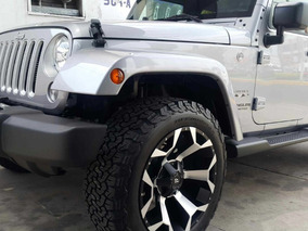 Jeep Wrangler Unlimited Sahara Modificado 2017