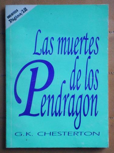 Las Muertes De Los Pendragon / Chesterton (ed. Página 12)