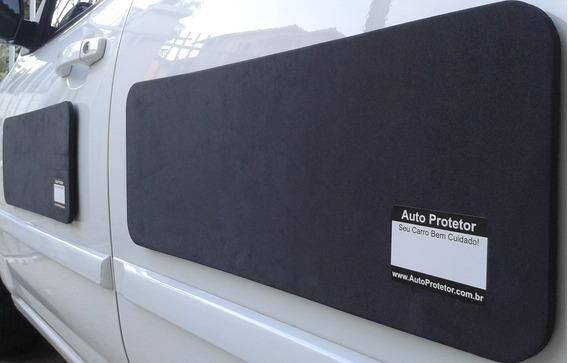 Protetor De Portas Magnético Para Carros - Kit Com 2 Peças