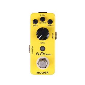 Pedal Mooer Flex Boost Gain Mfb Para Guitarra