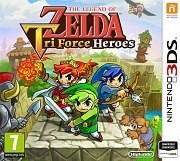 The Legend Of Zelda Tri Force Heroes 3ds Usado Meses