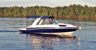 Lancha Triton 250 Cabinada Mercruiser 200hp Focker Coral