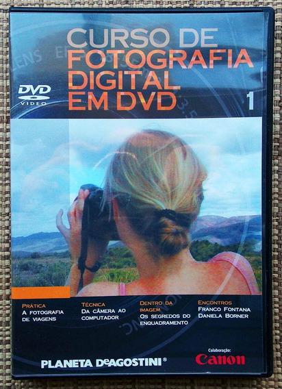 Curso De Fotografia Digital Em Dvd - Dvd Número 01