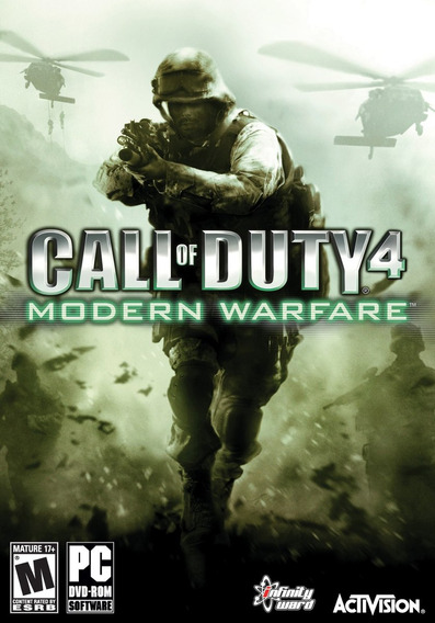 Call Of Duty 4 Modern Warfare Pc Envio Em 5 Minutos Original