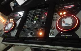 Cdj 400s Pioneer (par) Mais Mix Djm 400 Pioneer No Case