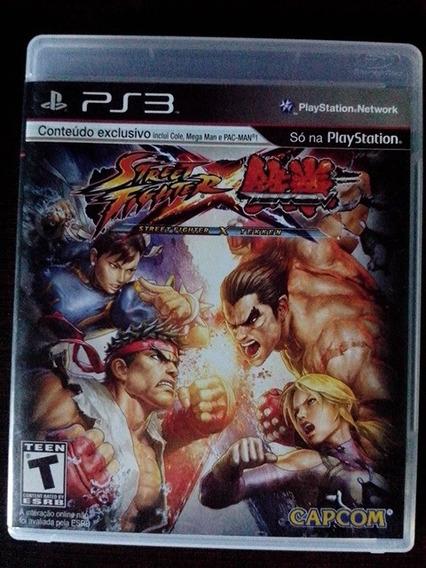 Street Fighter X Tekken Ps3 Midia Fisica Frete Barato