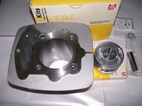 Kit Cilindro Completo Standard Xr/cbx/nx 200 Metal Leve.
