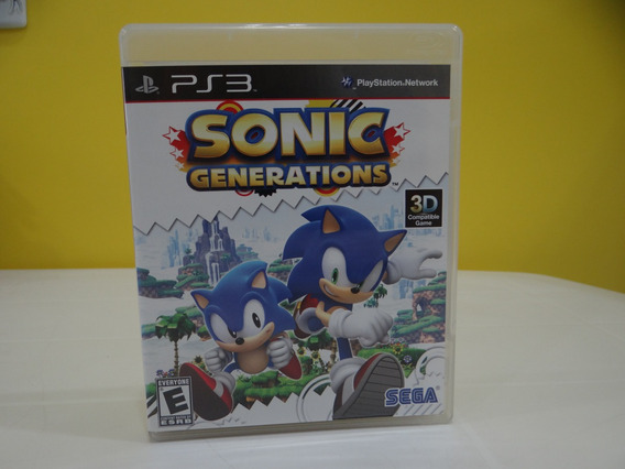Sonic Generations - Ps3 - Completo!