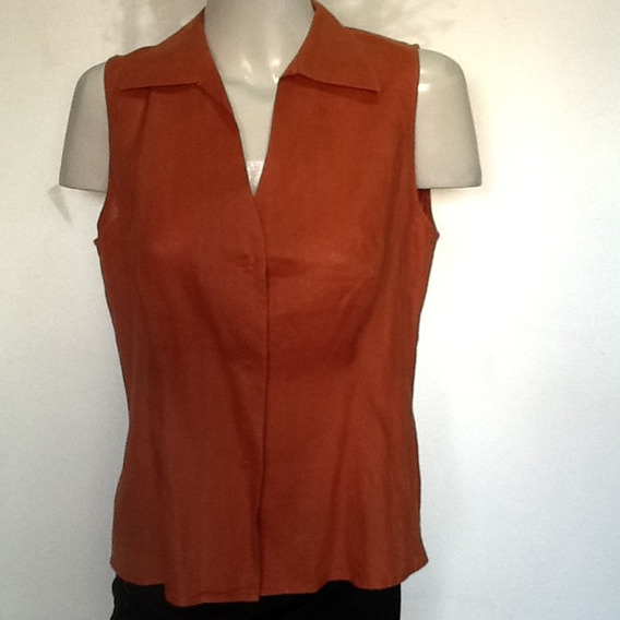 Camisa Jean Basic,lino