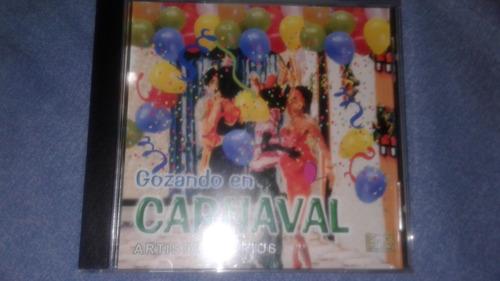 Gozando En Carnaval - Artistas Varios Salsa, Cumbia