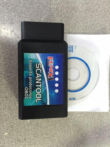 Escaner Automotriz Scantool Multimarcas Obd2+eobd+can