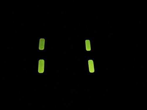 Aplique Botões Dos Vidros Acendem No Escuro Lancer