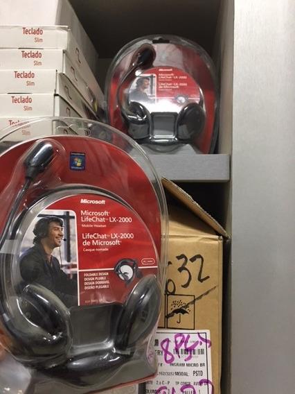 Headset Microsoft Lifechat Lx2000 2pino