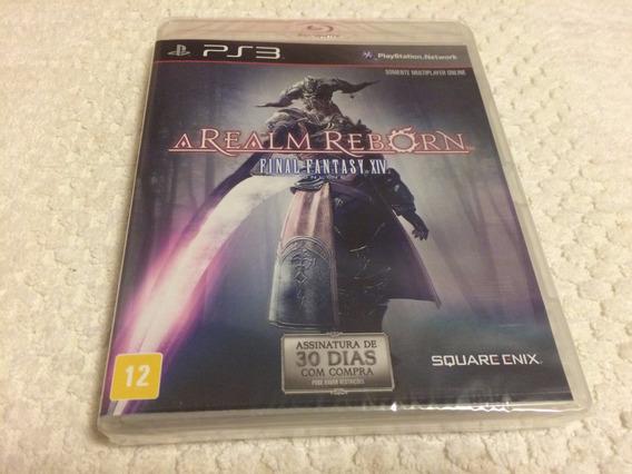 Final Fantasy Xiv A Realm Reborn(playstation 3, 2013)lacrad