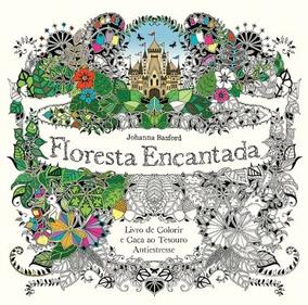 Livro Floresta Encantada -- Colorir