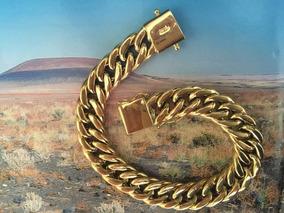 Bela Pulseira Ouro 18k-40.1gr.22cm.