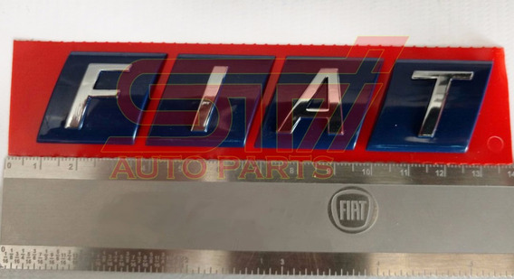 Emblema Sigla Fiat Cromado Marea Marea Weekend Novo Original