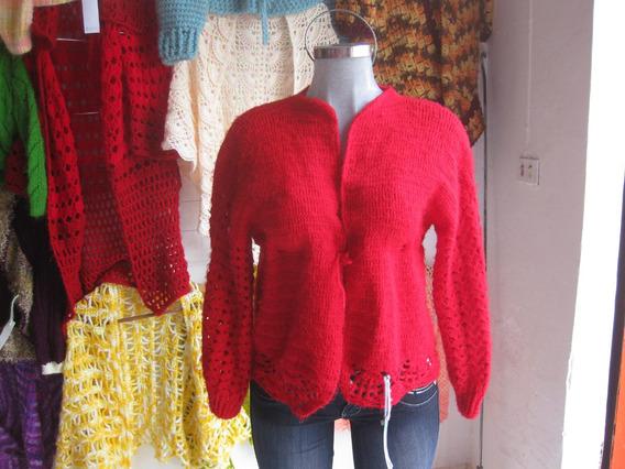 Sweaters Tejidos A Mano En Estambre Talla Chica