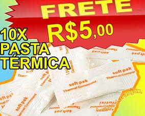Pasta Térmica 10 Peças Sachê Silicone Cooler Fan Placa Vga