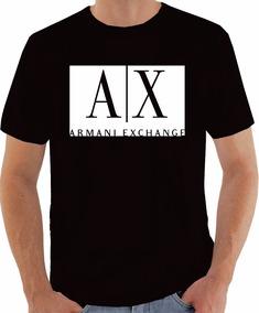 Camiseta Personalizada Armani Exchange Ax A Melhor !!