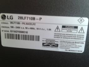 Cabo Flat Lvds Lg 28lf710b-p Ead63707201 Semi Novo
