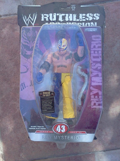 Rey Mysterio Ruthless Aggression Wwe Serie 43 Jakks Pacific