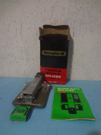 Splicer Fujica Single 8 - Excelente Estado Com Manual