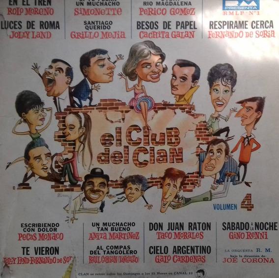 El Club Del Clan Vol. 4 Raro Descatalogado Vinilo Lp Pvl