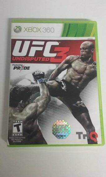 Ufc Undisputed 3 - Xbox 360 Usado